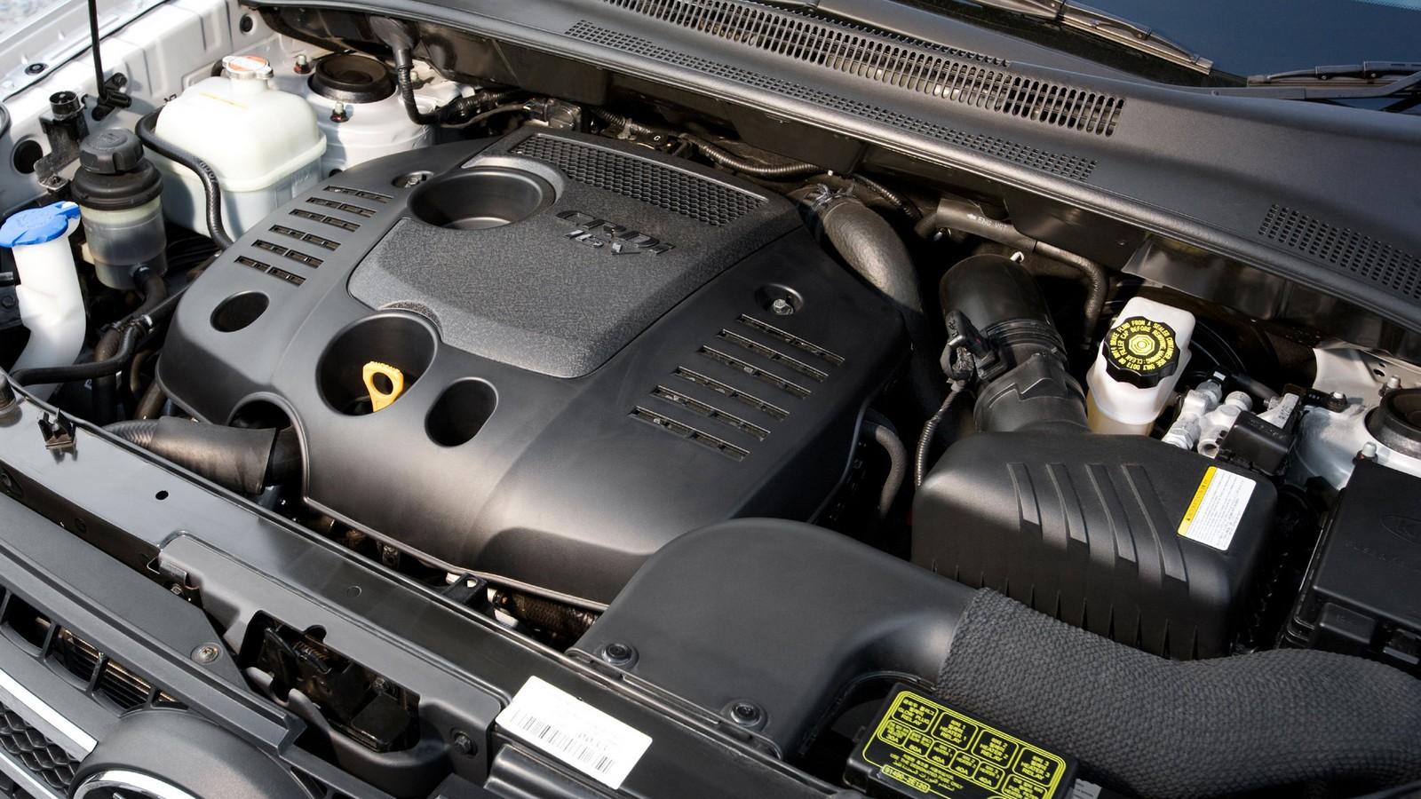 Двигатель Kia Sportage 2 поколения