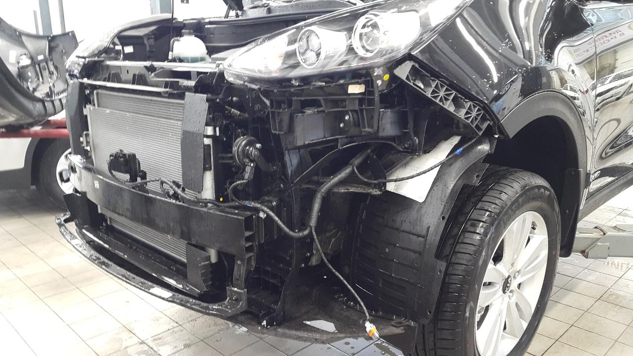 Установка датчика парктроника Kia Sportage 3