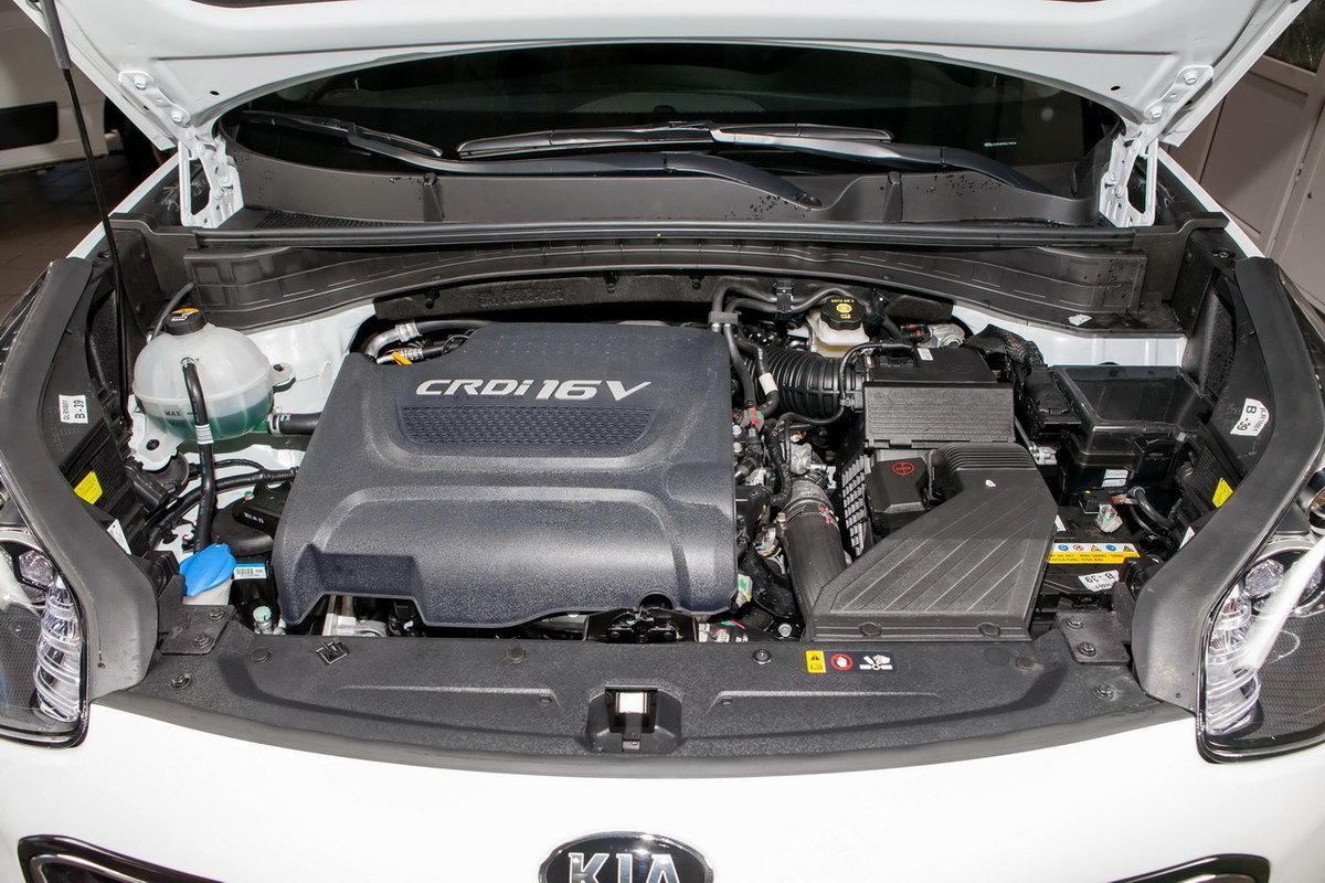 Технические характеристики Kia Sportage 4 поколения