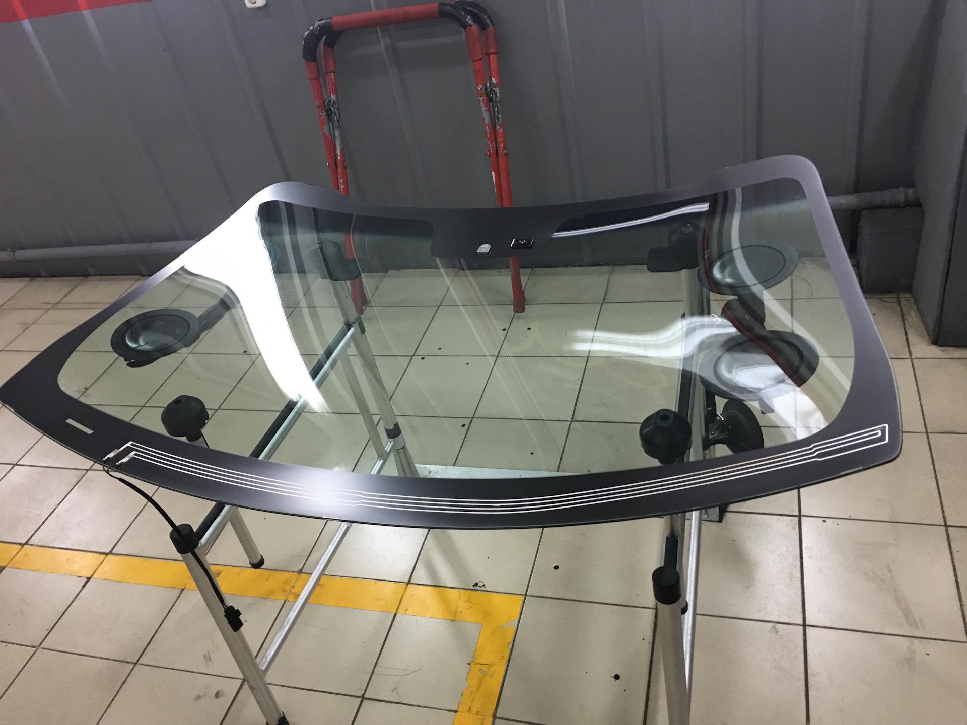 Замена лобового стекла Kia Sportage 3