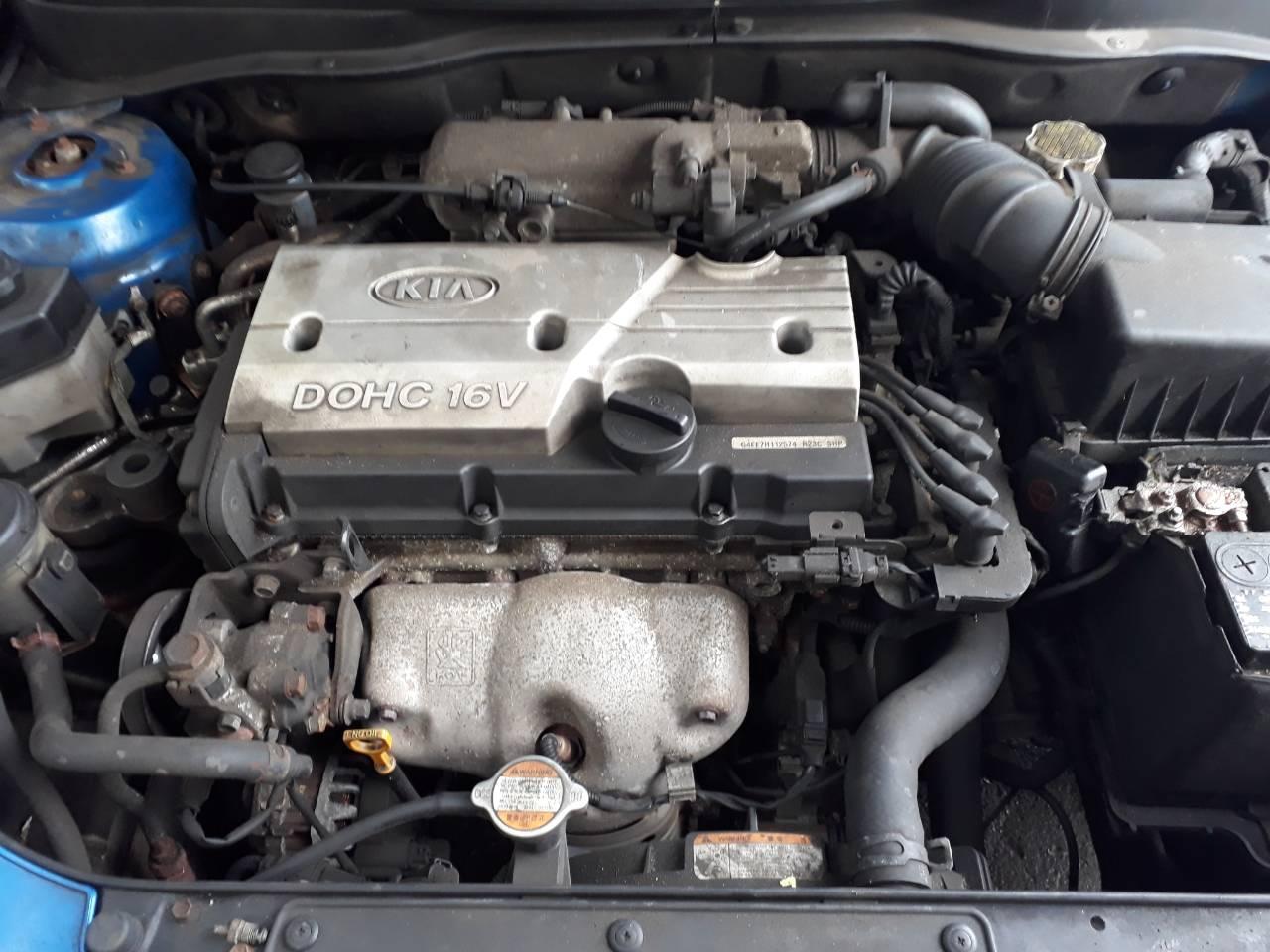 Двигатель Киа Рио 2 поколения