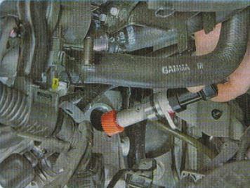 Установка датчика скорости Киа Рио
