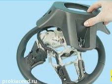 Как заменить руль на Киа Сид
