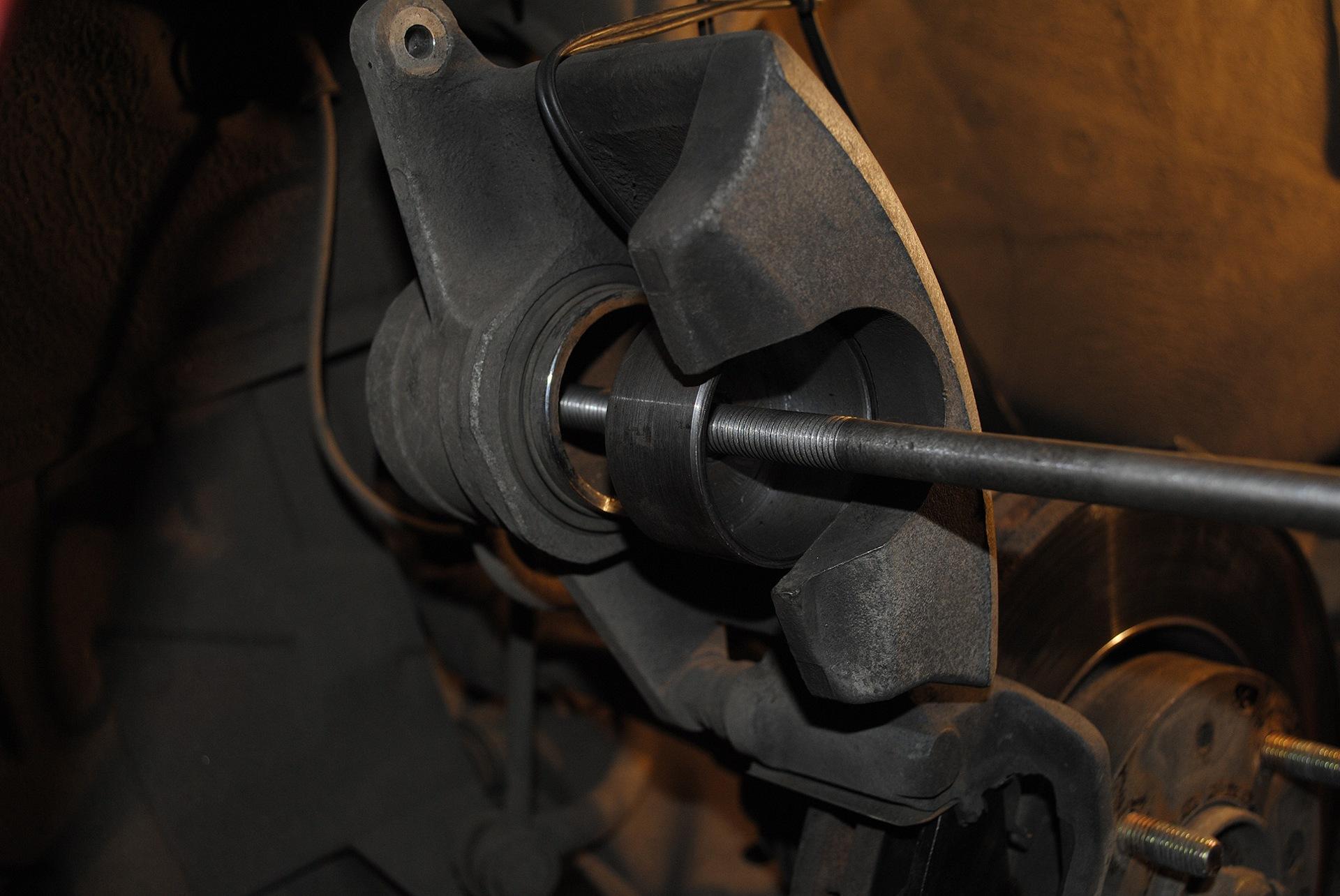 Обновление тормозных колодок Киа Церато