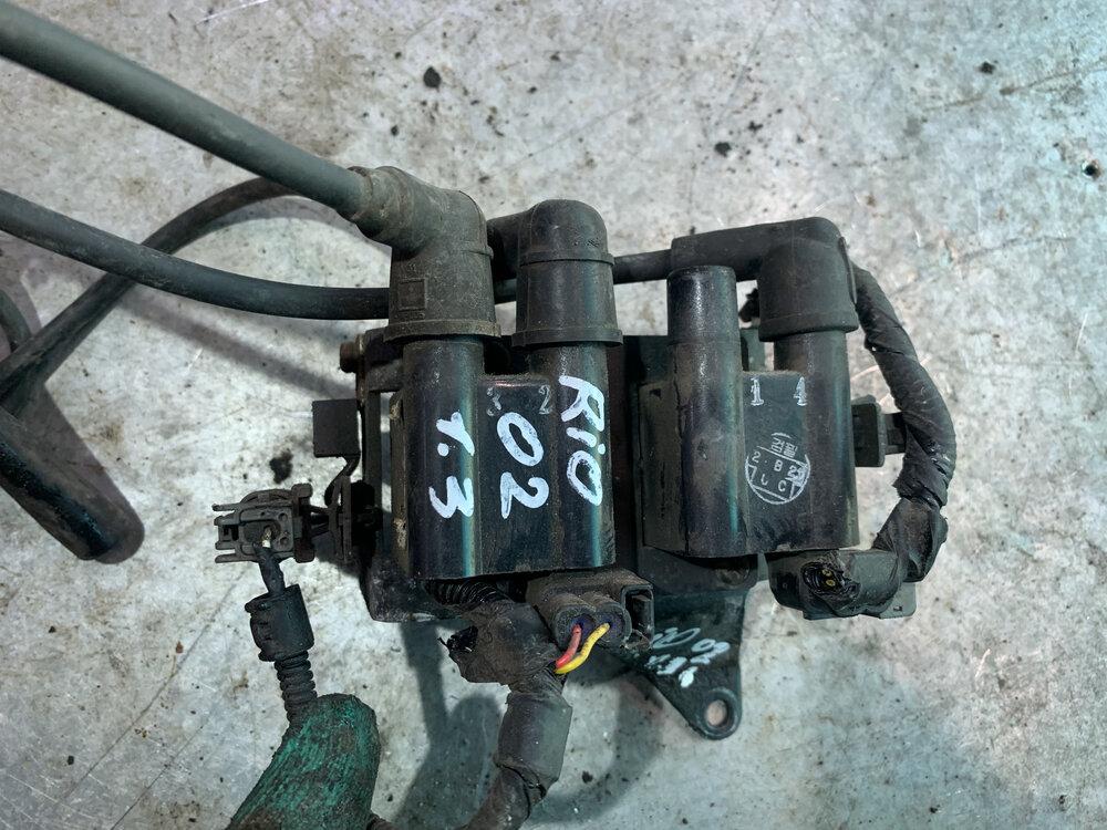 Катушки зажигания на Киа Рио 3 - замена