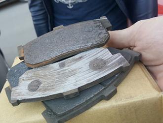 Замена тормозных колодок Киа Соул